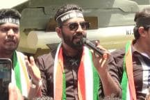Nalapad Leads Youth Congress Protest in Bengaluru Despite Being Suspended for 6 Years