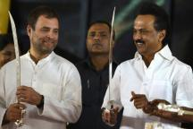 Stalin Bats for Rahul Gandhi as PM to Defeat 'Fascist Modi Govt' at Oppn's Show of Strength in Chennai