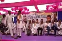 Hardik Patel Slapped At A Public Rally In Gujarat
