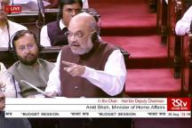 Union Minister Amit Shah Moves Resolution on Kashmir in Lok Sabha