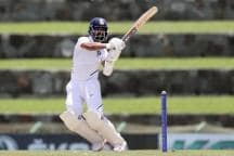 India vs West Indies: Rahane Fifty Silver Lining on Rain-marred Day in Antigua