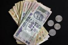 Rupee gains 5 paise against dollar to 55.02