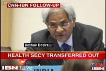 Desiraju transferred: Health ex-secretaries, bureaucrats allege foul play