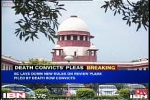 Review petitions by death row convicts to be heard by 3 judges in open court: SC