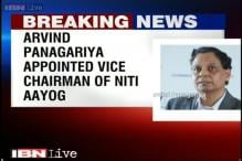 Arvind Panagariya appointed as Vice Chairman of NITI Aayog