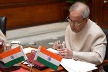 President Mukherjee Backs PM Modi on One Nation One Poll