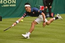 Nishikori Clears First Round at Gerry Weber Open