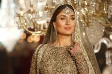 Kareena Kapoor Khan Stuns In A Golden, Shimmery Faraz Manan Ensemble