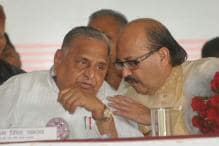 As Mulayam and Akhilesh Fight Over Cycle, Amar Singh Jets to London
