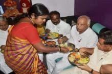 Dining With Dalits, Yeddyurappa Plans to Bite Into Congress Votebank