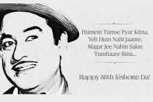 Kishore Kumar's 88th Birth Anniversary: Listen to the Maverick's Evergreen Hits