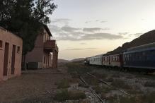 Morocco Tourists Make Tracks on 007's 'Desert Express'
