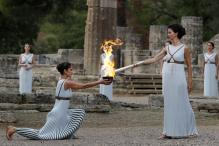 Winter Olympics 2018: Olympic Flame Lit in Greece