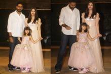 When SRK, Abhishek Accompanied AbRam To a Swing Ride At Aaradhya's Birthday Party