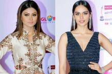 Urvashi Rautela, Manushi Chhillar at 10th Mirchi Music Awards 2018