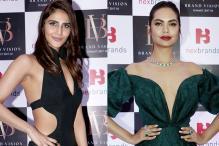 Esha Gupta, Vaani Kapoor at Brand Vision Awards 2017-2018