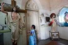 Church Decorated with Tagore Motif Inaugurated in Bengal