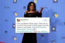 #OprahForPresident: Twitter Lauds Winfrey's Golden Globes Speech