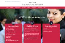 GPAT 2018 Result Released at aicte-gpat.in; All India Merit List Expected Soon