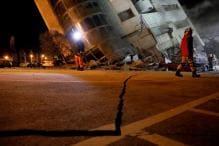 Taiwan Quake Kills 4, Tilts Buildings; Over 140 Missing