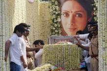 Wrapped in Tricolour, Superstar Sridevi Makes Final Journey