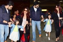 Baby Aaradhya Bachchan Back From Family Vacation