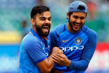 In Pictures: Virat Kohli Having Gala Time With Fellow Cricketers
