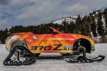 Nissan 370Zki Snowmobile Unveiled at 2018 Chicago Auto Show