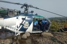 Coast Guard Helicopter Makes Emergency Landing at Murud in Maharashtra, All Members Safe