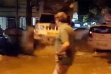 Watch: SUV Thrown Up in Air After Water Pipeline Bursts in Mumbai
