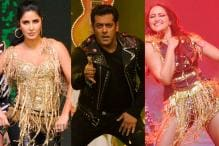 Salman, Katrina, Sonakshi Perform at 'Da-Bangg Tour' in Pune