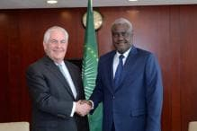African Union Chief Meets Tillerson, Says Trump Slur 'In The Past'
