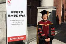 88-year-old Japanese Woman, Who Sold Toys to Make Her Living, Conferred Doctorate