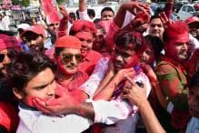 Day in Photos - Mar 14: Phulpur By-elections; Shiv Sena Protest; Paralympic 2018