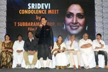 Telugu Film Industry Pays Tribute To Sridevi in Hyderabad