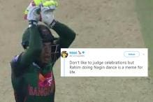 Mushfiqur Rahim's 'Naagin' Dance After Guiding Bangladesh to Historic Win is Now a Meme
