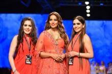 AIFW AW '18: Bipasha Basu is Elegance Personified in a Karishma-Deepa Sondhi Lehenga