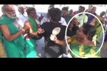 BJP Worker Slaps Farmer at TN Temple, Demands His Arrest for Abusing Her