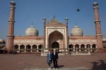 German President Steinmeier Visits Jama Masjid in New Delhi