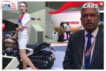 Auto Expo 2018: TVS President-NPD Talks About Creon, Zeppelin & Apache Ethanol at Auto Expo