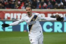 Zlatan Ibrahimovic on Target Again as Galaxy Douse Fire