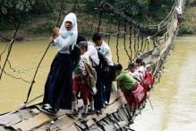 18 Photos Show Students Taking Dangerous Routes to Get to School