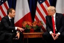 We Convinced Donald Trump to Stay in Syria, Says French President Macron