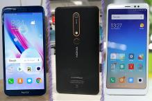 Top 5 Android Smartphones Under Rs 20,000 Launched in 2018