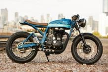Royal Enfield Continental GT Customized by Chicago based Federal Moto, Named 'Grand Trunk Express'