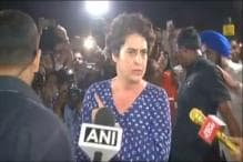 Shoved and Pushed, Priyanka Gandhi Loses Cool at Midnight March for Kathua and Unnao Rape Victims