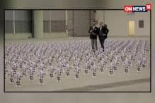 Watch: A Robot Army in Italy Set A New World Record For Dancing