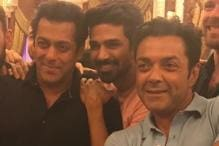 Salman Khan Has a Blast With Race 3 Co-stars As They Ring In Saqib Saleem's Birthday; See Pics