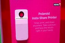 First Look : Motorola Polaroid Insta-Share Printer Moto Mod