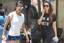 Stunning Photos Of Bollywood Actresses Post Their Workout